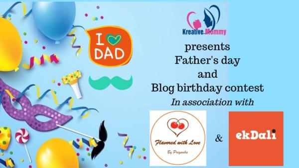 Blog birthday celebration